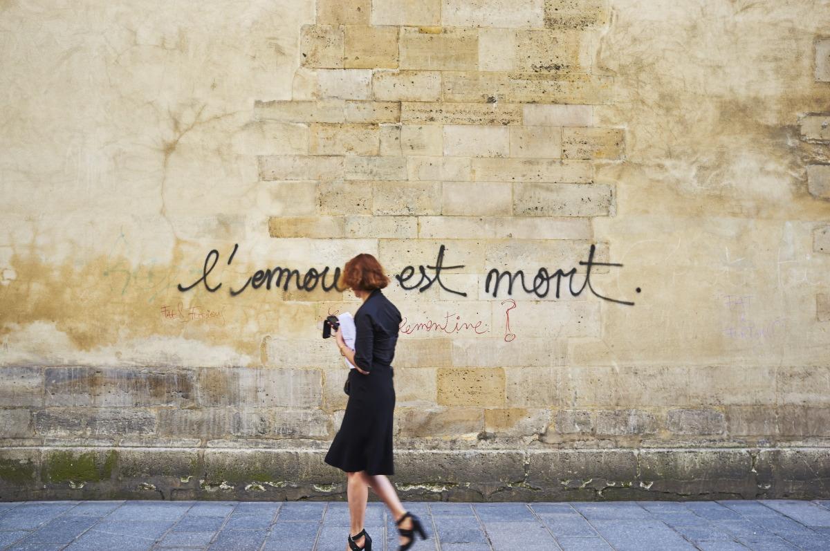 L'amour est mort by Emmanuel Pineau