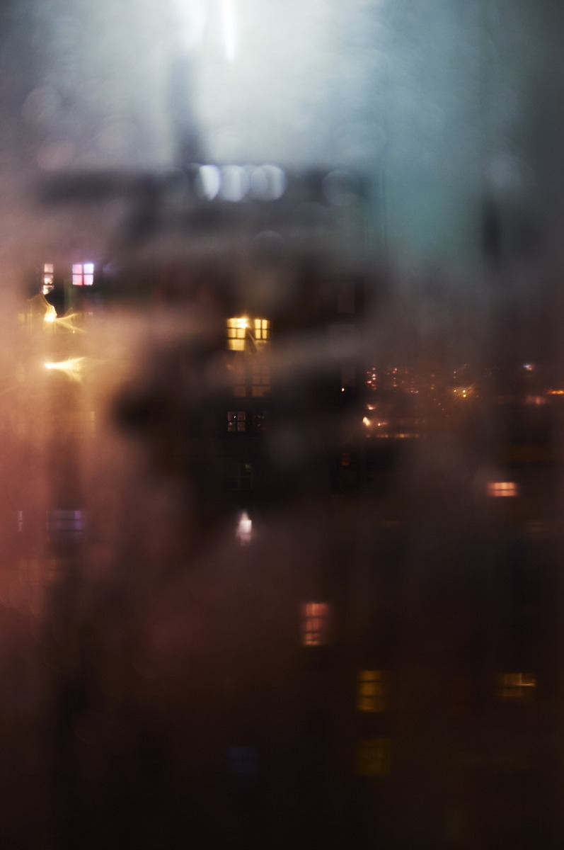 Night view from my window by Emmanuel Pineau
