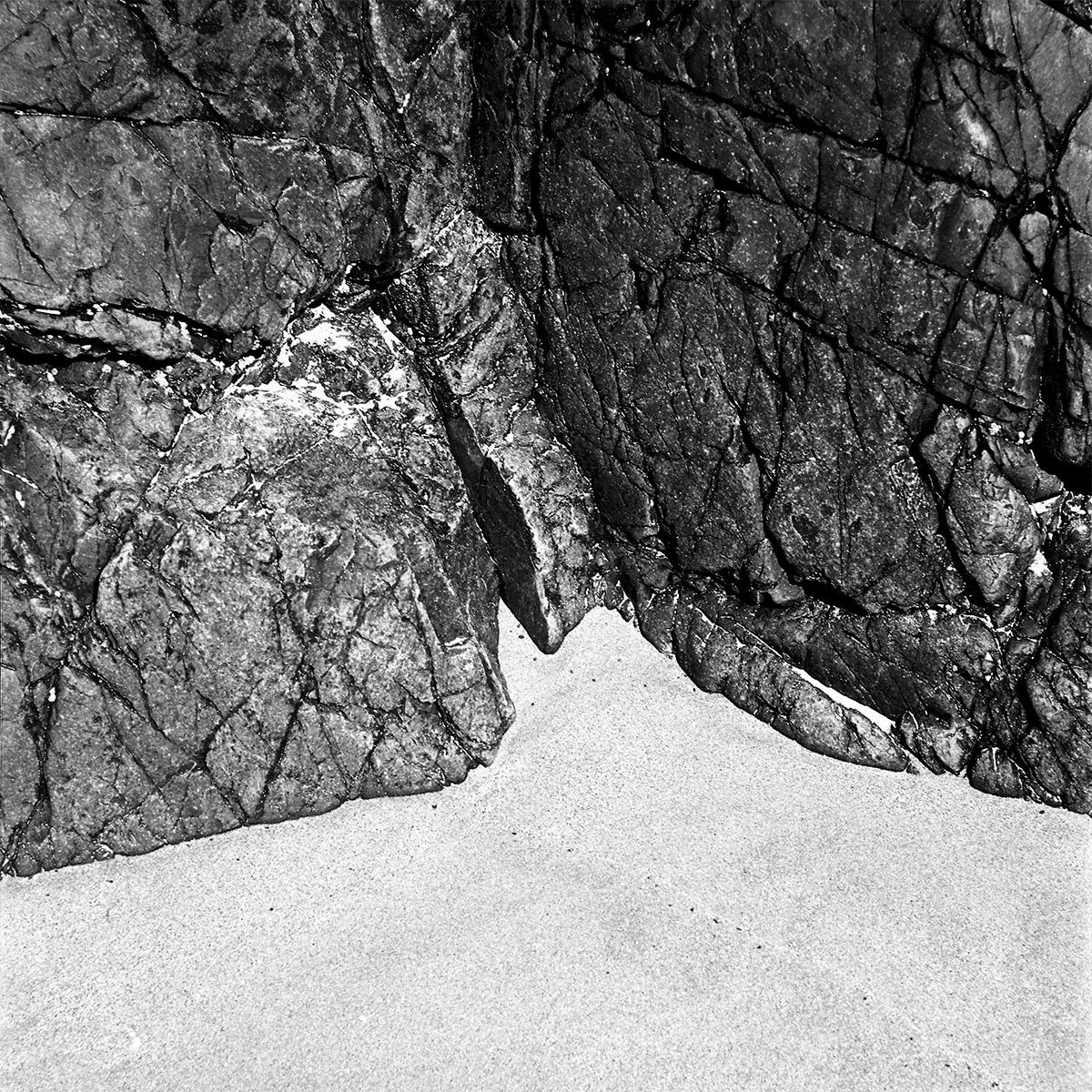 Rocks on brittany's beach by Emmanuel Pineau